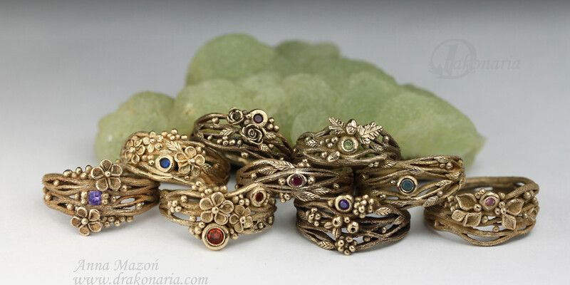Twig rings – Anna Mazon